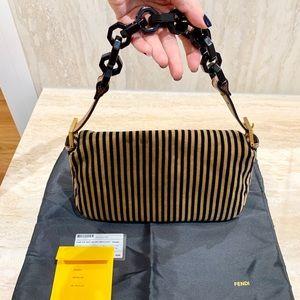 cb757495c0 Fendi Bags - Fendi Velvet Baguette Bag